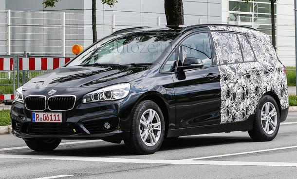 BMW 2er Gran Tourer 2015 Erlkoenig Siebensitzer Family Van