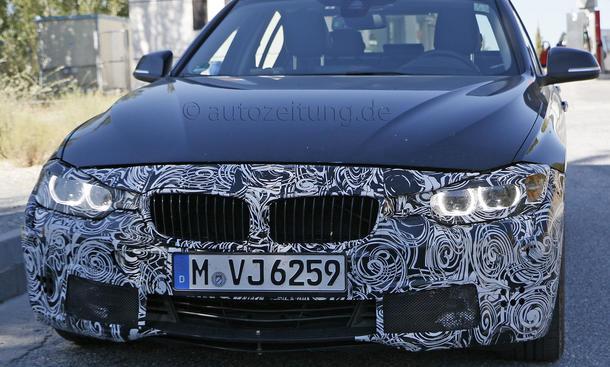 BMW 3er 2015 Erlkoenig Facelift 335i Modellpflege Neuheiten
