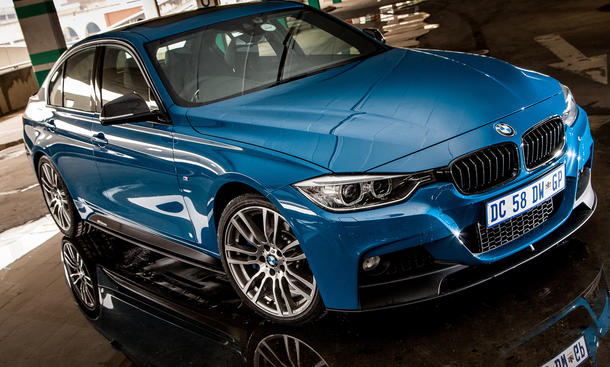 BMW 3er M Performance Edition 2014 Suedafrika Sondermodell