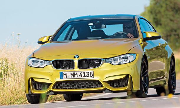 BMW M4 M3 Faszination Auto Bilder technische Daten