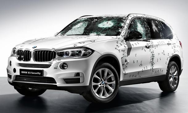 BMW X5 Security Plus 2014 Moskau Auto Show Panzerung SUV Panzer