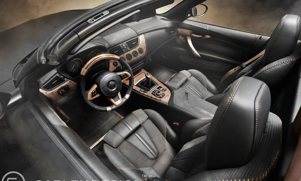 BMW Z4 Carlex Design Steampunk Interieur 0002