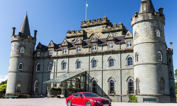 Mit dem Bentley Continental GT Speed auf Tour durch Schottland