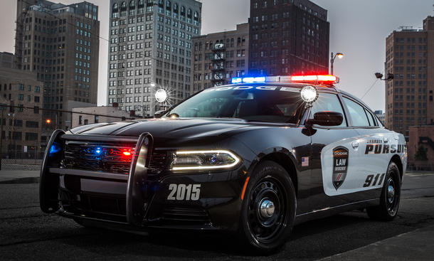 Dodge Charger Pursuit 2015 Police Car USA Streifenwagen Bilder