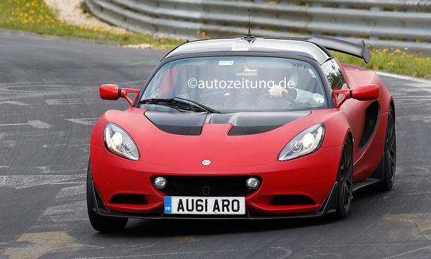 Erlkoenig Lotus Elise S Cup R 2014 Strassenversion Sportwagen Straßenzulassung