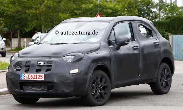 Fiat 500x Suv Erlkoenig Bild Kompakt Crossover 0003
