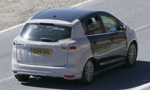 2014 - [Ford] C-Max Restylé - Page 3 Ford-C-Max-Facelift-2015-Erlkoenig-02