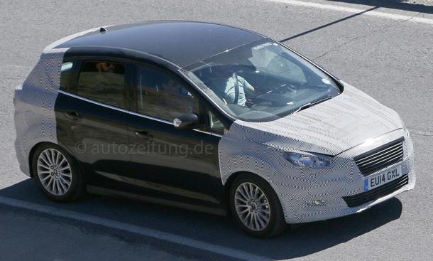 Ford C-Max Facelift 2015 - Update: Erlkönig zeigt Kompakt-Van
