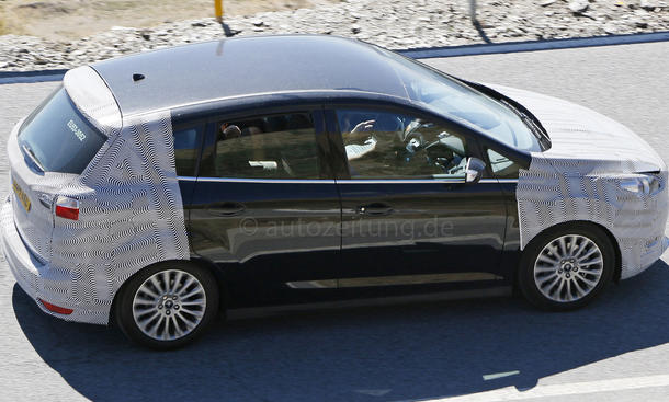 2014 - [Ford] C-Max Restylé - Page 3 Ford-C-Max-Facelift-Erlkoenig-2015-02