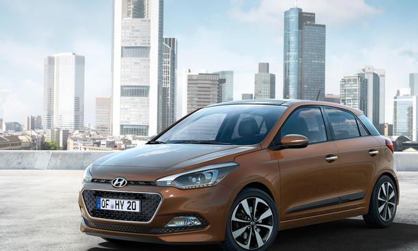 Hyundai i20 2014 Paris Kleinwagen Neuheit Pariser Autosalon