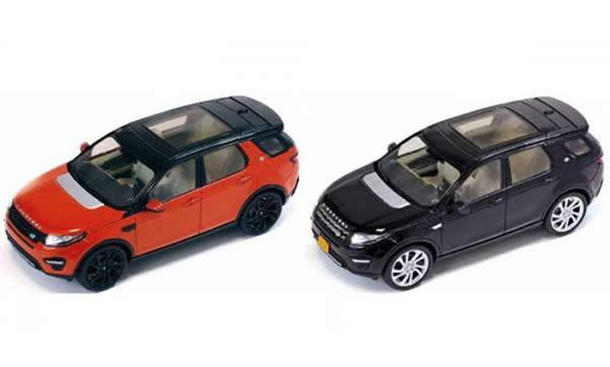 Land Rover Discovery Sport: Modellauto-Leak vor der Premiere in Paris