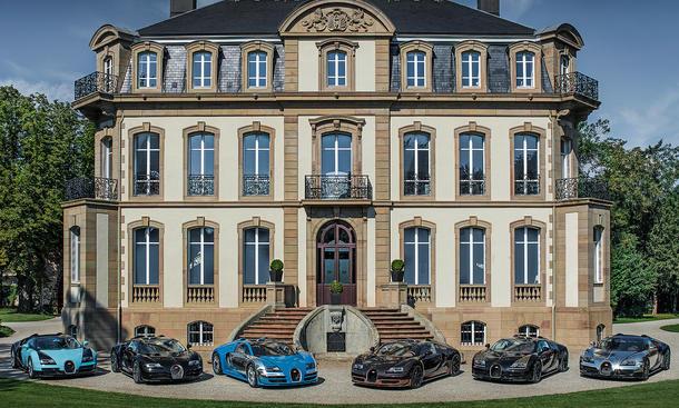 Les Legendes de Bugatti Molsheim 2014 Versammlung legendaerer Moment