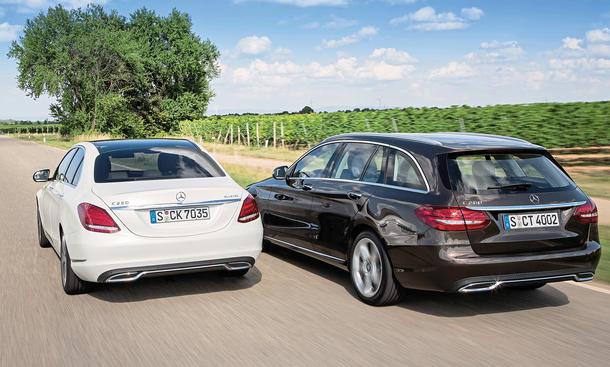 Mercedes C-Klasse Limousine T-Modell Kaufberatung Bilder technische Daten