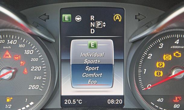 Mercedes C-Klasse Limousine T-Modell Kaufberatung Bilder technische Daten Dämpfer