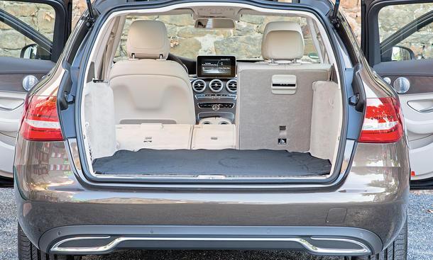 Mercedes C-Klasse Limousine T-Modell Kaufberatung Bilder technische Daten Laderaum
