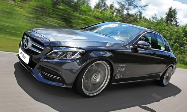 Schmidt Felgen für Mercedes C Klasse und mehr Leistung von Carlsson