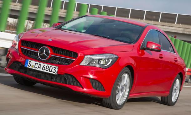 Mercedes CLA: Kompakt-Coupe bringt starke Verkaufszahlen