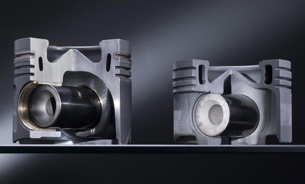 Mercedes Diesel Motoren Stahl Kolben 2014 Nanoslide V6 Turbodiesel