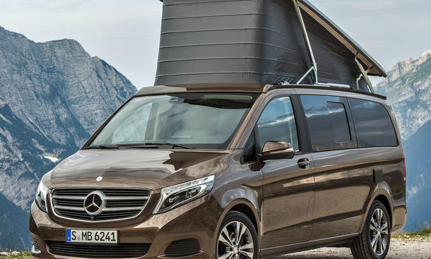 wohnmobil marco polo mercedes. Black Bedroom Furniture Sets. Home Design Ideas
