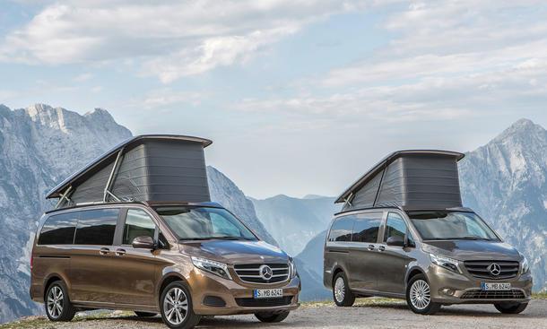 Mercedes Marco Polo: Wohnmobil auf V-Klasse-Basis