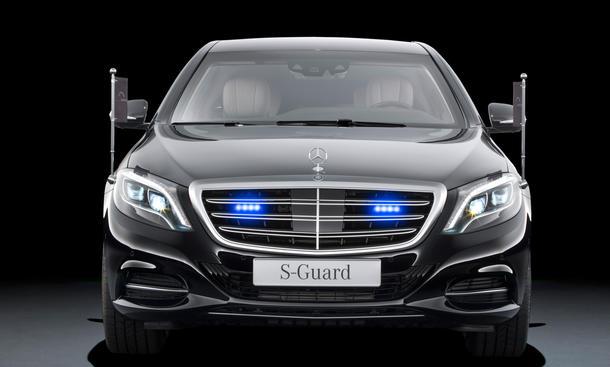 Mercedes S 600 Guard gepanzerte Limousine V12 0005