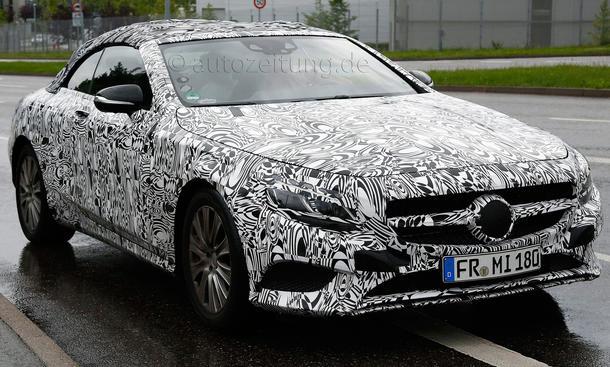 Mercedes S-Klasse Cabrio 2015 Erlkoenig Luxus Cabriolet