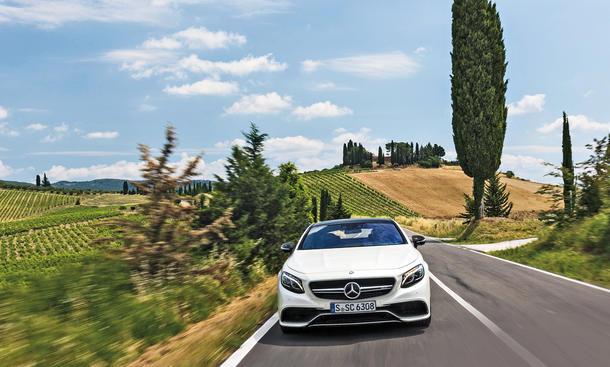 Mercedes S 63 AMG 4Matic Coupe Fahrbericht Luxus-Klasse Bilder V8