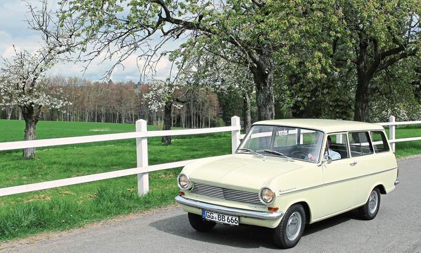 Opel Kadett A Caravan S Kombi Fahrbericht Kaufberatung Bilder technische Daten