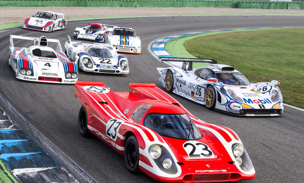 Porsche 911 GT1 917 K 935 Le Mans Rennwagen Ikonen Bilder technische Daten