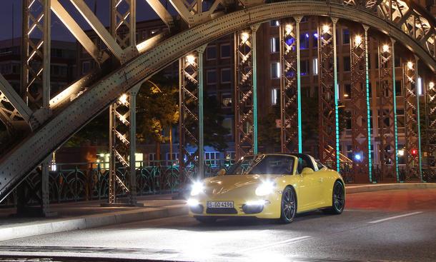 Porsche 911 Targa 4S: Das Sicherheits-Cabrio mit Bügel im ersten Test