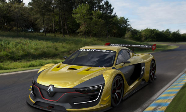 Renault R.S. 01: Supersportler mit 500 PS in Moskau