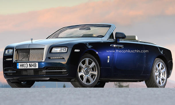 Rolls-Royce Wraith Drophead Coupe Cabrio 2016 Neues Modell Cabriolet Preis