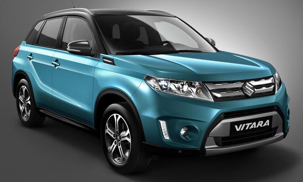 Suzuki Vitara 2014 Paris SUV Neuheit Vorstellung Vorschau