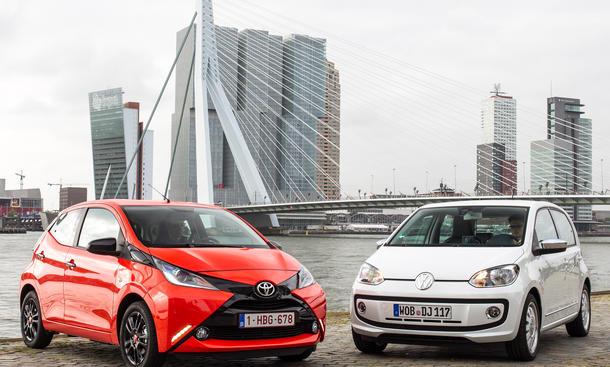 Toyota VW 2014 Wettstreit Groesster Autobauer der Welt Absatz-Vergleich