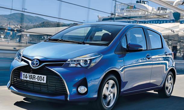Toyota Yaris Hybrid Fahrbericht Bilder technische Daten