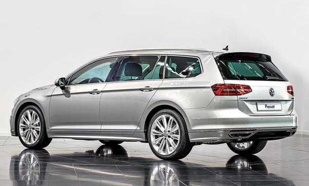 VW Passat Variant 2014 Mercedes C-Klasse T-Modell BMW 3er Touring Bilder technische Daten