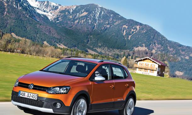 VW CrossPolo 1.2 TSI BMT Test Bilder technische Daten