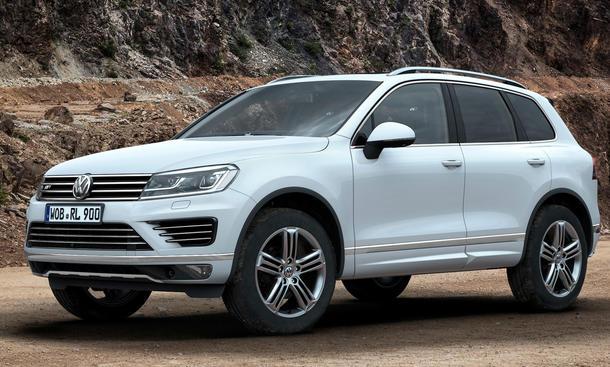VW Touareg Facelift 2014 Preise SUV Bestellstart 0002