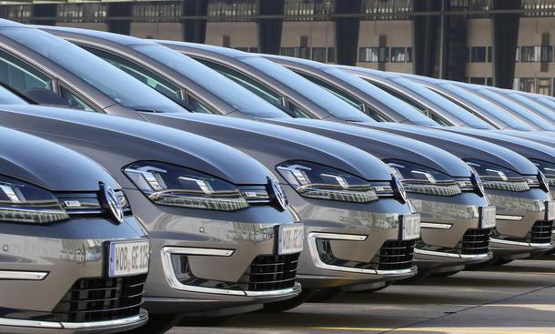 Volkswagen Absatz 2014 bis Juli VW-Konzern Verkaufszahlen weltweit