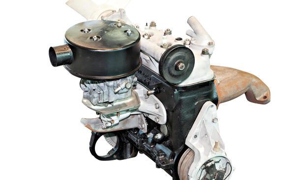 Wartburg 311: Dreizylinder-Zweitakt-Motor