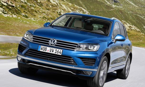 VW Touareg 2014: Facelift bringt Stil  Sparsamkeit