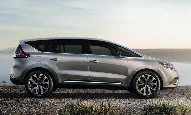 Renault neue Modelle Espace 2015 Limousine Crossover Absatzpläne