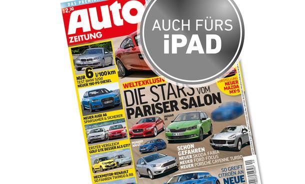 AUTO ZEITUNG 20/2014 Heft-Vorschau Cover