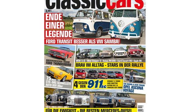 AUTO ZEITUNG CLASSIC CARS 10/2014: Heft-Vorschau