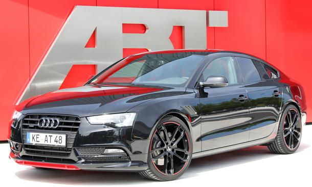 Abt AS5 Dark Tuning Audi A5 Sportback Schwarz