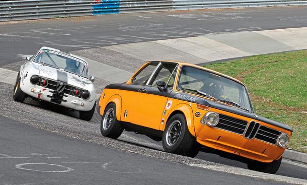 Alfa Romeo GTAm BMW 2002 ti Sportwagen Touring Oldtimer Bilder technische Daten