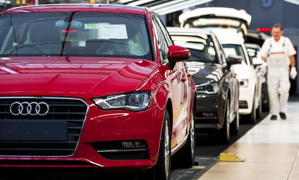 Audi China Preisabsprachen Strafe mehrere Millionen Euro Ersatzteile