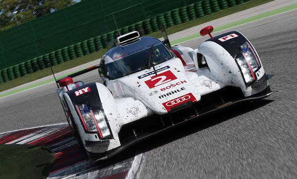 Audi R18 e-tron Le Mans Motorsport Fahrbericht Bilder