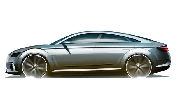 Audi TT Sportback 2014 Paris Concept viertürige Limousine
