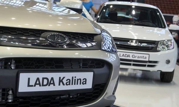 Automarkt Russland Absatz August 2014 Neuzulassungen Lada